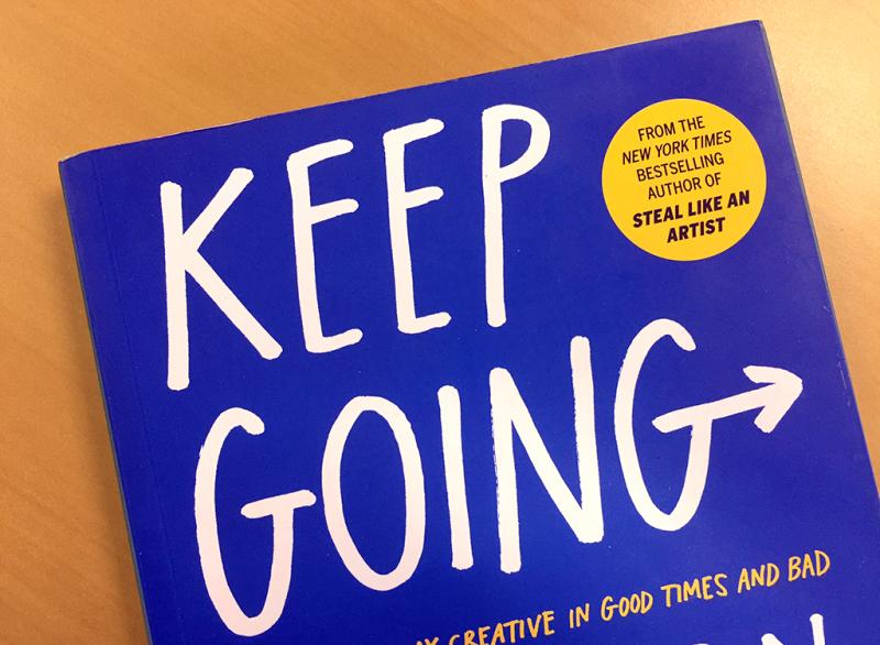 Austin Kleon: Keep Going [Biblioteca Amnesia]