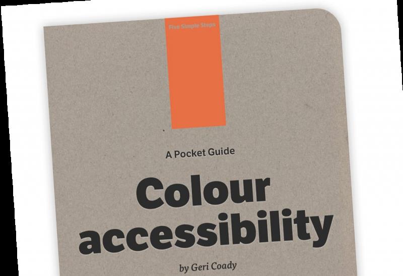 Geri Coady: Colour accessibility [Biblioteca Amnesia]