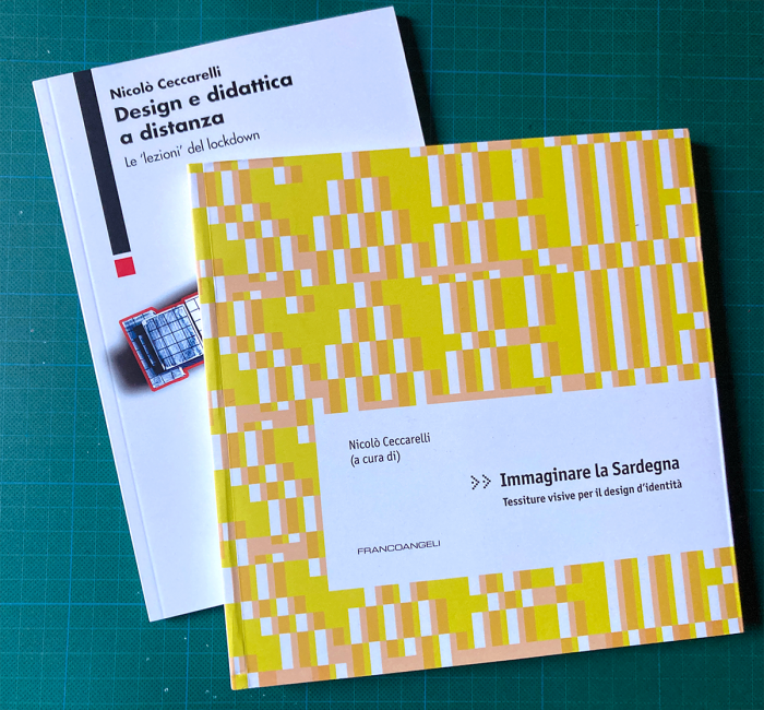 Nicolò Ceccarelli: Design e didattica a distanza e Immaginare la Sardegna [Biblioteca Amnesia]