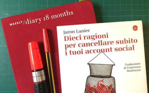 Jaron Lanier: Dieci ragioni per cancellare subito i tuoi account social [Biblioteca Amnesia]