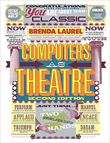 Computer as a theatre. Second Edition Book Cover