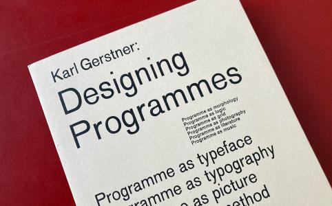 Biblioteca Amnesia: Designing Programmes, Karl Gerstner
